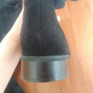 ASOS Shoes - London Rebel over the knee black boots EUC